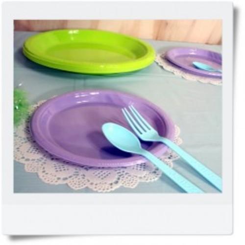 컬러접시,접시,파티용품,테이블데코,색접시,플라스틱접시,일회용품,일회용접시