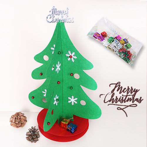크리스마스트리만들기,펠트트리,펠트트리세트,트리만들기,어린이트리만들기,어린이크리스마스공예