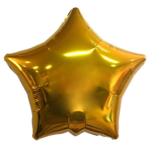 35인치 별 은박풍선(골드)