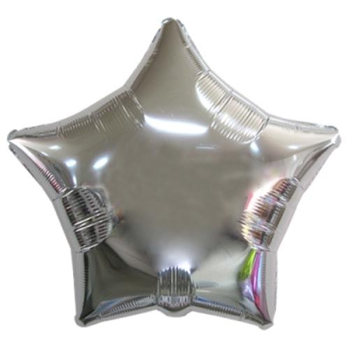 35인치 별 은박풍선(실버)