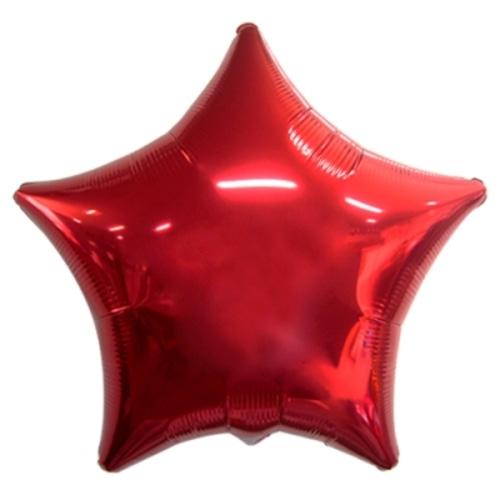 35인치 별 은박풍선(레드)