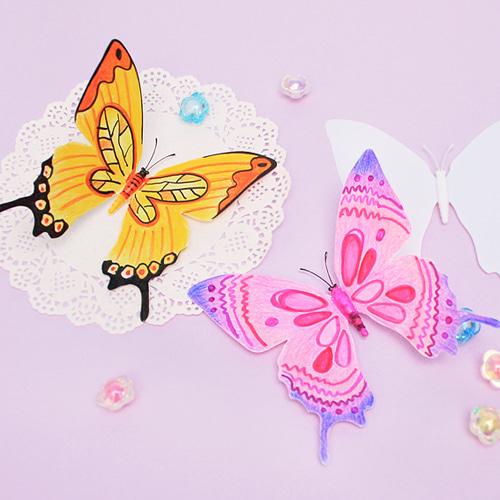 자석,나비,봄,봄만들기,반제품,만들기재료,나비꾸미기,나비만들기,냉장고자석,마그넷