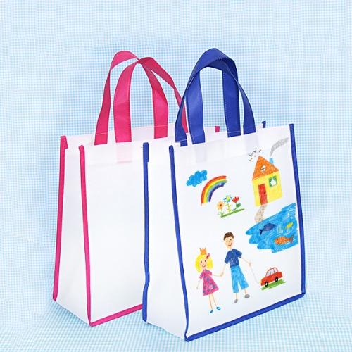 가방,만들기,꾸미기,부직포가방,천가방,그림그리기,물감찍기,스텐실,참여수업,미술수업,실내화,학원가방