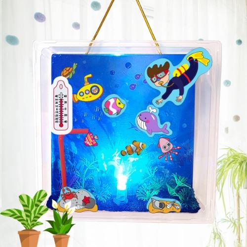 만들기,바다,여름만들기,여름,여름방학,방학숙제,방학,자석,물고기,바다동물,바다꾸미기,바다만들기,바다속,문어,조명등,라이트,수족관,잠수함,바다만들기 재료