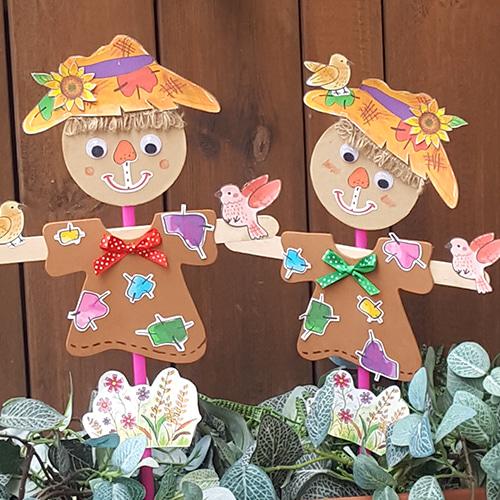 허수아비피리,가을만들기,허수아비만들기,종이허수아비,가을공예,피리공예,종이접기