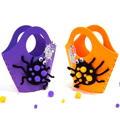 할로윈만들기,할로윈가방,부직포가방,바느질로만드는가방,바느질가방,어린이가방,가방만들기