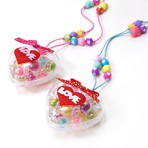 만들기 사랑해 사탕 목걸이 (5set)