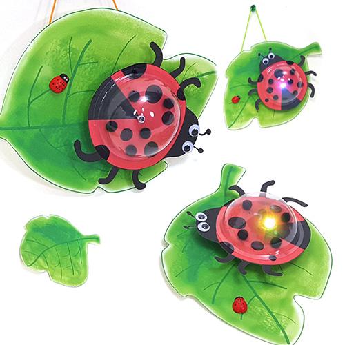 만들기,봄, 무당벌레조명,무당벌레만들기,곤충만들기,봄만들기,led공예,조명공예