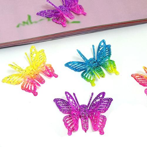 홀로그램 나비 장식