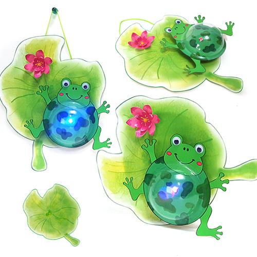 만들기 개구리 조명등 (5인용)
