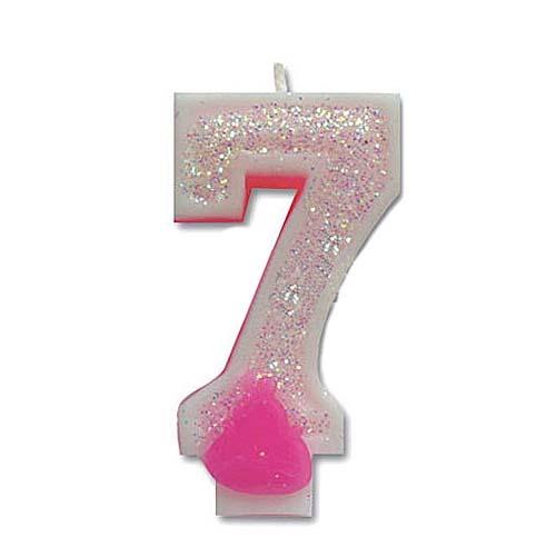 숫자초(핑크7)