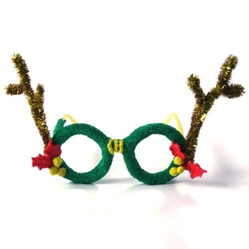 점토 공예, 점토만들기,크리스마스카드만들기,주제별 만들기, 겨울 크리스마스,루돌프안경,크리스마스안경,안경만들기