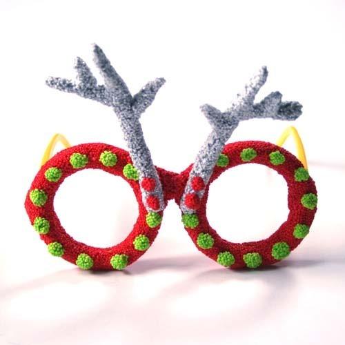 점토 공예, 점토만들기,점토틀,점토,도예토,점토용품,점토동물만들기,크리스마스안경,안경만들기