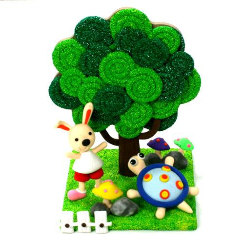 주제별 만들기 봄,식목행사,나무만들기,나만의나무,나무공예,나무만들기,나무,봄,식물,식목일,잠자리,나비,곤충,클레이,볼클레이,나무꾸미기,색칠,창의미술