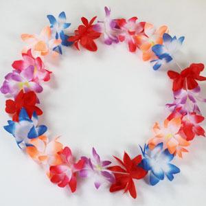 꽃목걸이set (목걸이+팔찌+화관)