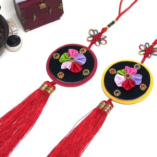 만들기 전통 꽃 노리개 (5set)